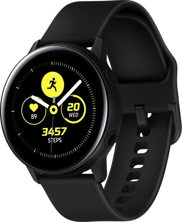 Chytré hodinky Chytré hodinky Samsung Galaxy Watch Active R500, černá