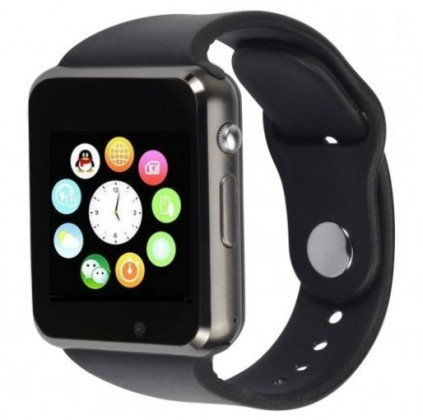 Chytré hodinky Chytré hodinky Smartomat Squarz 1, černá POUŽITÉ, NEOPOTŘEBENÉ ZB