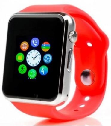 Chytré hodinky Chytré hodinky Smartomat Squarz 1, červená