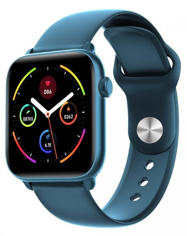 Chytré hodinky Chytré hodinky Smartomat Squarz 8 Pro, modrá