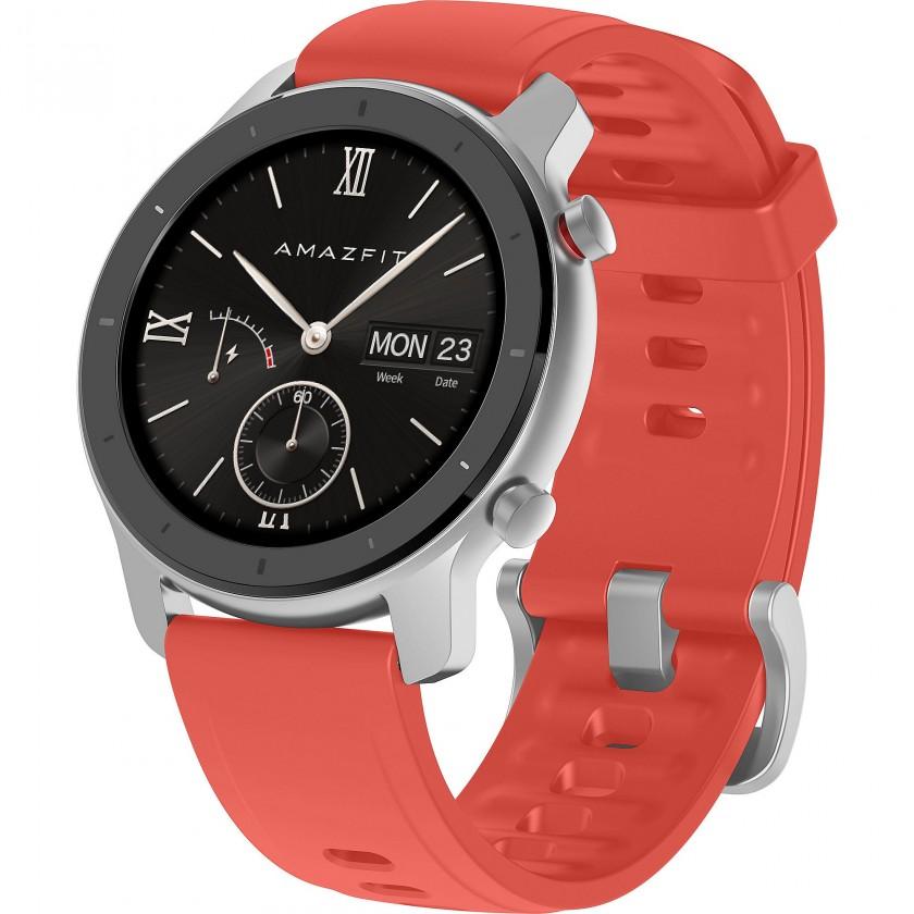 Chytré hodinky Chytré hodinky Xiaomi Amazfit GTR 42mm, červená