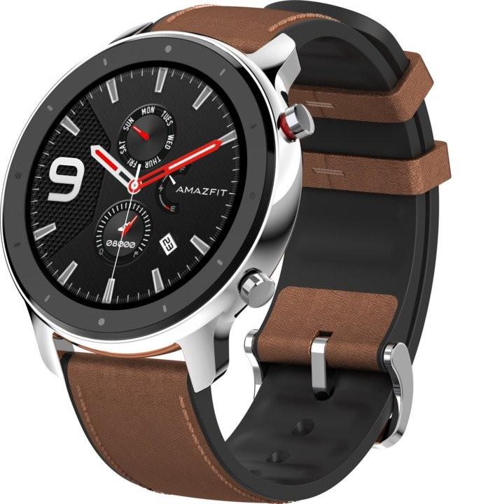 Chytré hodinky Chytré hodinky Xiaomi Amazfit GTR 47mm, stříbrná