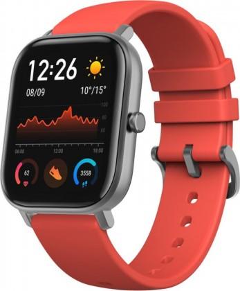 Chytré hodinky Chytré hodinky Xiaomi Amazfit GTS, oranžová