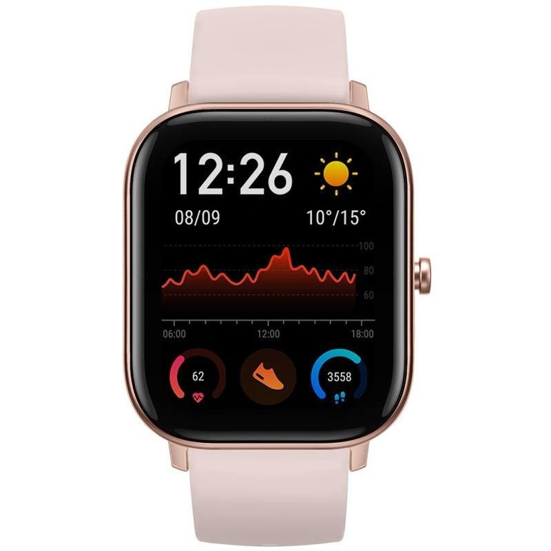 Chytré hodinky Chytré hodinky Xiaomi Amazfit GTS, růžová