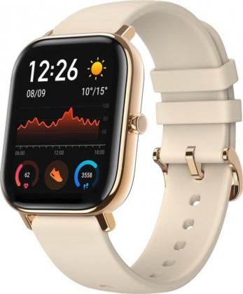 Chytré hodinky Chytré hodinky Xiaomi Amazfit GTS, zlatá