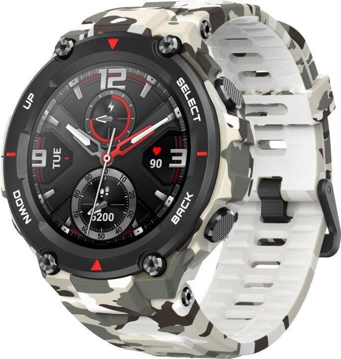 Chytré hodinky Chytré hodinky Xiaomi Amazfit T-Rex, Camo Green