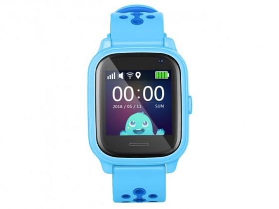 Chytré hodinky Dětské chytré hodinky Smartomat Kidwatch 3, modrá