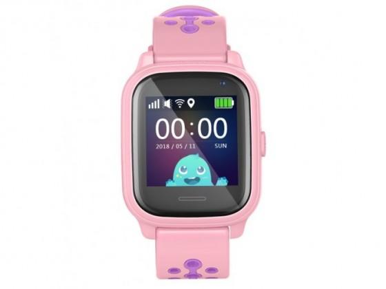 Chytré hodinky Dětské chytré hodinky Smartomat Kidwatch 3, růžová