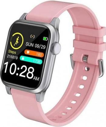 Chytré hodinky Deveroux P 18, růžová