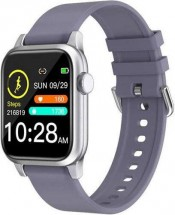 Chytré hodinky Deveroux P 18, šedá