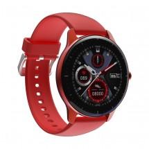 Chytré hodinky Doogee CR1, červená