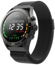 Chytré hodinky Forever Icon AW-100, černá
