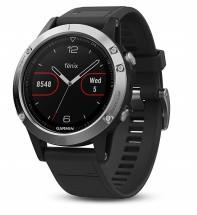 Chytré hodinky Garmin Fenix 5 Optic Silver, černá