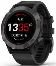 Chytré hodinky Garmin Fenix 6 Pro Sapphire, černá/šedá + Voucher