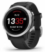 Chytré hodinky Garmin Fenix 6S Glass, černá/stříbrná
