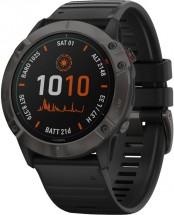 Chytré hodinky Garmin Fenix 6X Pro Solar, černá/titan + Voucher