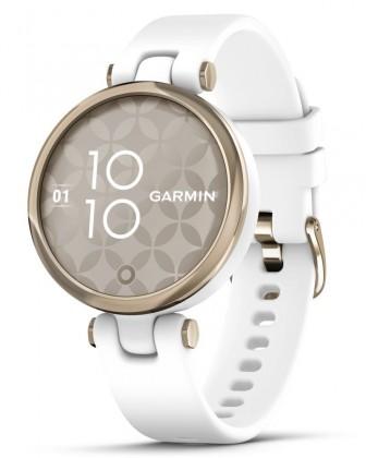 Chytré hodinky Garmin Lily Sport, Zlatá/bílá