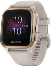 Chytré hodinky Garmin Venu SQ Music, růžovo/zlatá