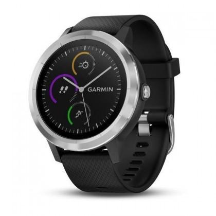 Chytré hodinky Garmin VivoActive 3 Optic Silver, černá