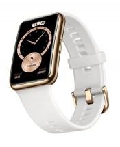 Chytré hodinky Huawei Watch Fit Elegant, bílá