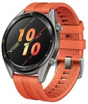 Chytré hodinky Huawei Watch GT Active, oranžová