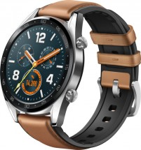 Chytré hodinky Huawei Watch GT CLASSIC, stříbrná