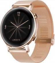 Chytré hodinky Huawei Watch GT2 42mm, zlatá