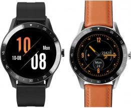Chytré hodinky iGET Blackview GX1, hnědá