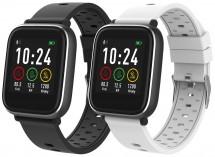 Chytré hodinky iGET Fit F3, 2 řemínky, černá POUŽITÉ, NEOPOTŘEBE