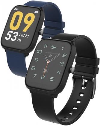 Chytré hodinky iGET FIT F45, černá