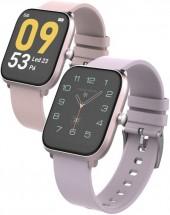 Chytré hodinky iGET FIT F45, růžová