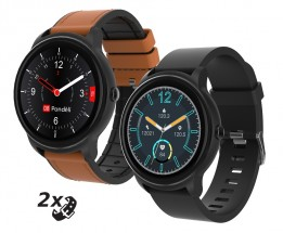 Chytré hodinky iGET Fit F60, 2x řemínek, černá
