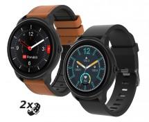 Chytré hodinky iGET Fit F60, 2x řemínek, černá POUŽITÉ, NEOPOTŘEB