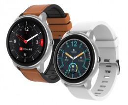 Chytré hodinky iGET Fit F60, 2x řemínek, stříbrná