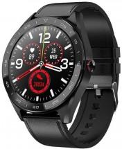 Chytré hodinky Immax Own Face, černá