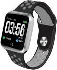 Chytré hodinky Immax SW10, černá/stříbrná POUŽITÉ, NEOPOTŘEBENÉ
