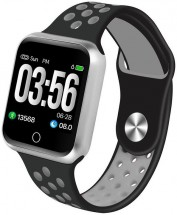 Chytré hodinky Immax SW10, černá/stříbrná
