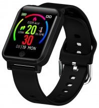 Chytré hodinky Immax Temp Watch, s měřením teploty, černá