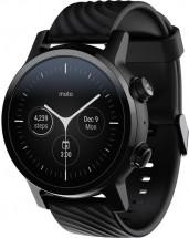 Chytré hodinky Motorola 360 3. generace, černá POUŽITÉ, NEOPOTŘEB