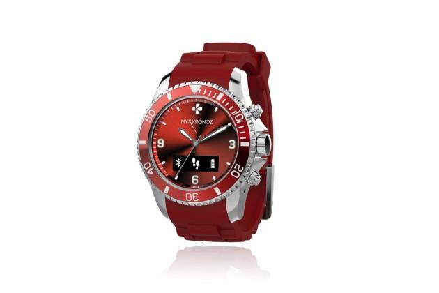 Chytré hodinky MYKRONOZ ZECLOCK chytré hodinky - červené