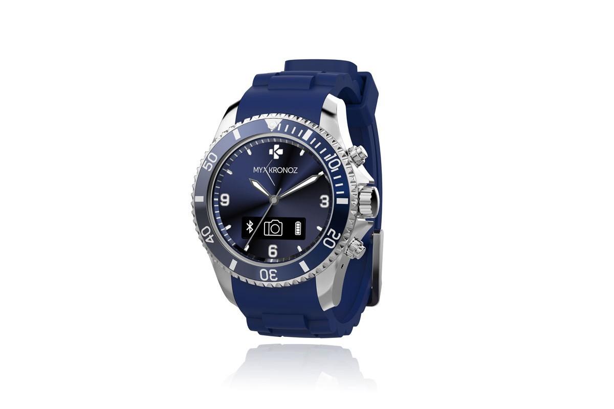 Chytré hodinky MYKRONOZ ZECLOCK - modré