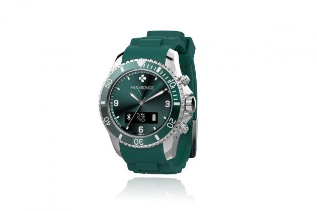 Chytré hodinky MYKRONOZ ZECLOCK - zelené