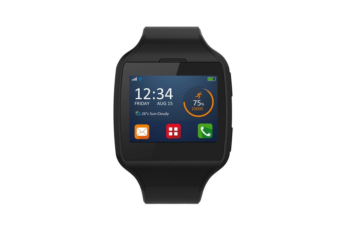 Chytré hodinky MYKRONOZ ZETEL chytré hodinky - černé