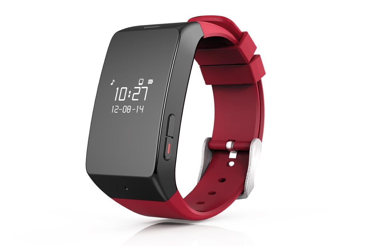 Chytré hodinky MYKRONOZ ZEWATCH2 chytré hodinky - červené