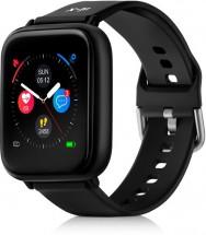 Chytré hodinky Niceboy X-Fit Watch, černá POUŽITÉ, NEOPOTŘEBENÉ Z