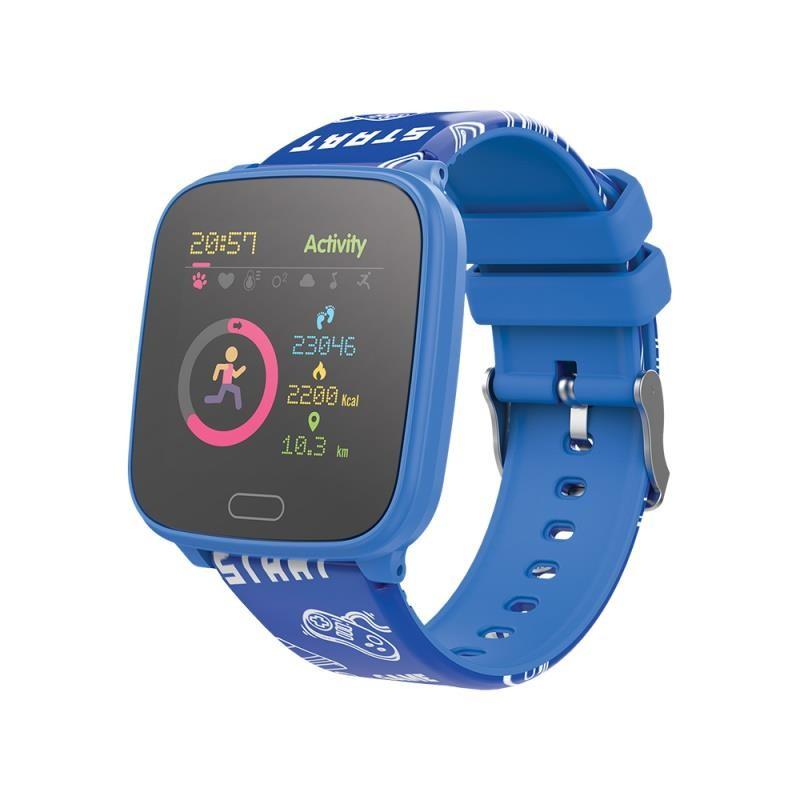 Chytré hodinky pro děti Dětské chytré hodinky Forever IGO JW-100, IP68, modrá