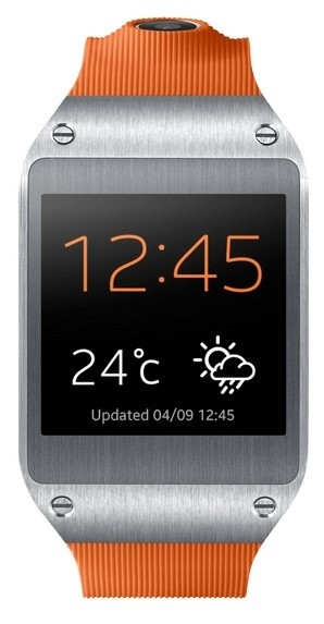 Chytré hodinky Samsung Galaxy Gear (V7000), oranžový