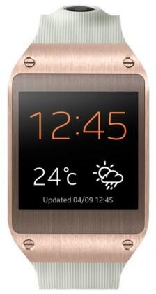 Chytré hodinky Samsung Galaxy Gear (V7000), zlatý