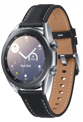 Chytré hodinky Samsung Galaxy Watch 3, 41mm, stříbrná