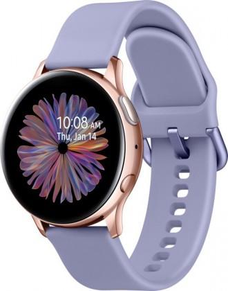 Chytré hodinky Samsung Galaxy Watch Active 2, 40mm, fialová